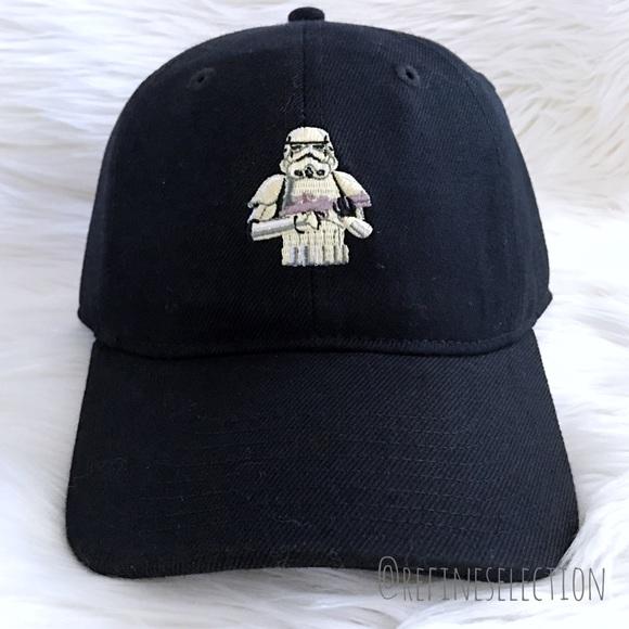 ebfcb166fd3 NEFF x Star Wars Stormtrooper Black Baseball Cap